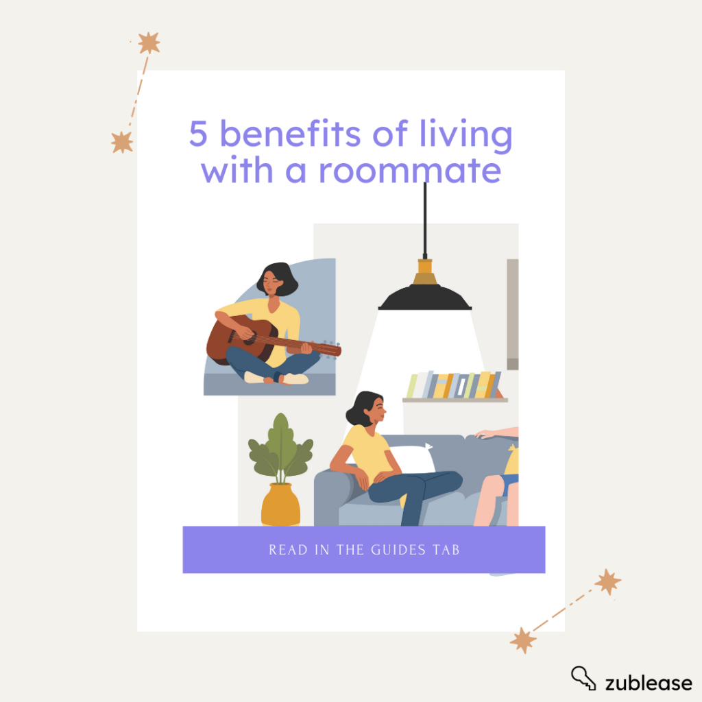 the five benefits of living with a roommate in college